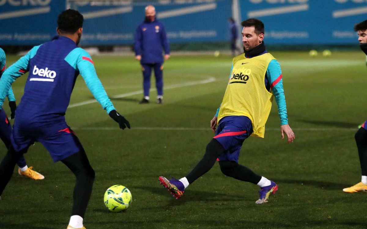 First training session of the year