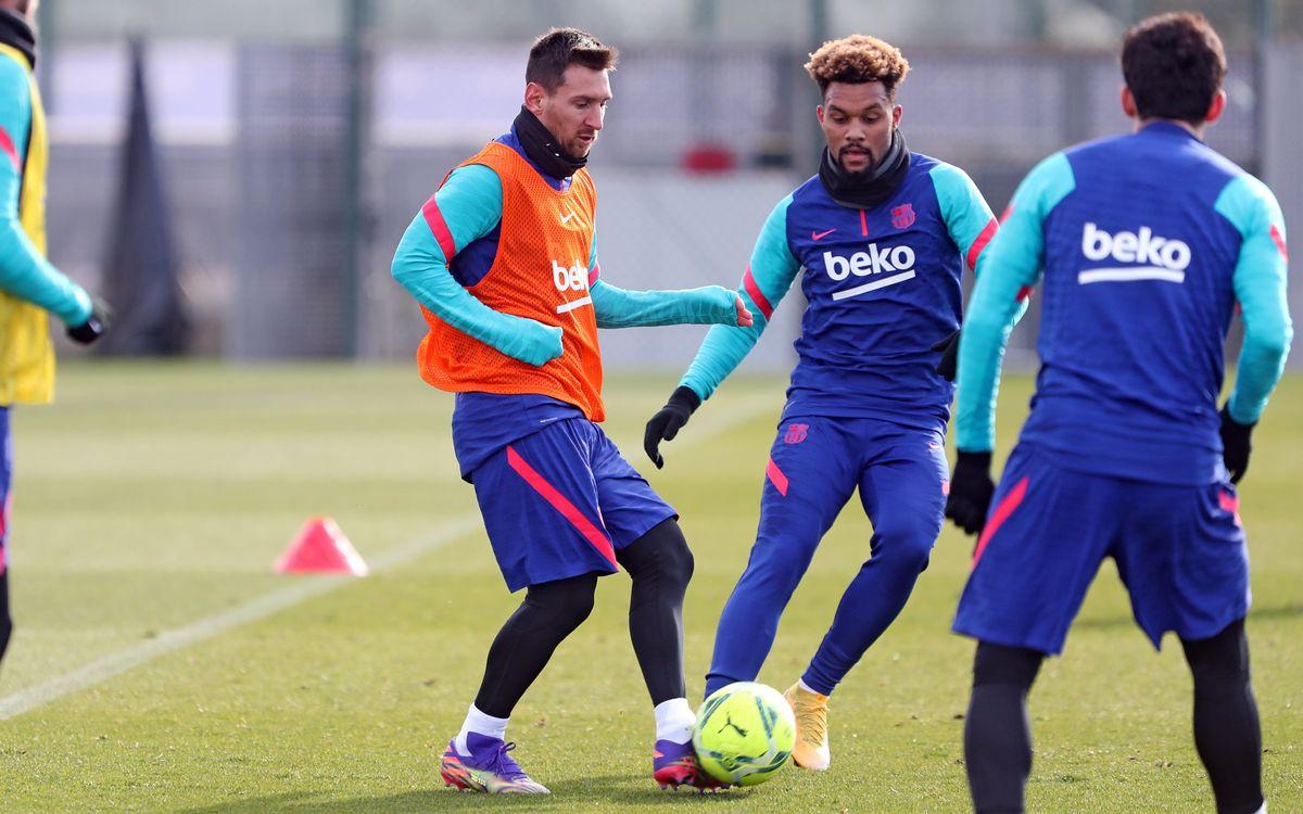 Messi, seule nouveauté dans le groupe pour Huesca