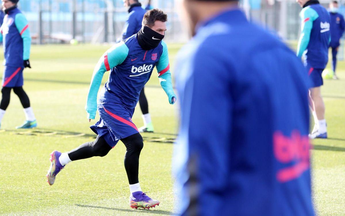 Messi, la novedad en la convocatoria para visitar El Alcoraz