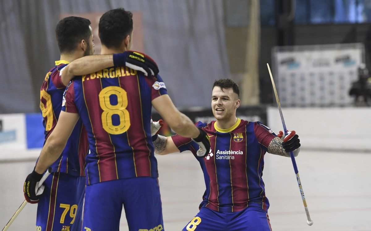 Noia Freixenet 1-3 Barça: First win of the year