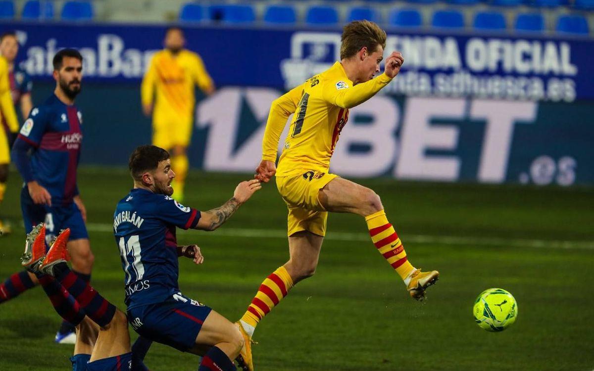 Frenkie de Jong's explosion as a goalscorer