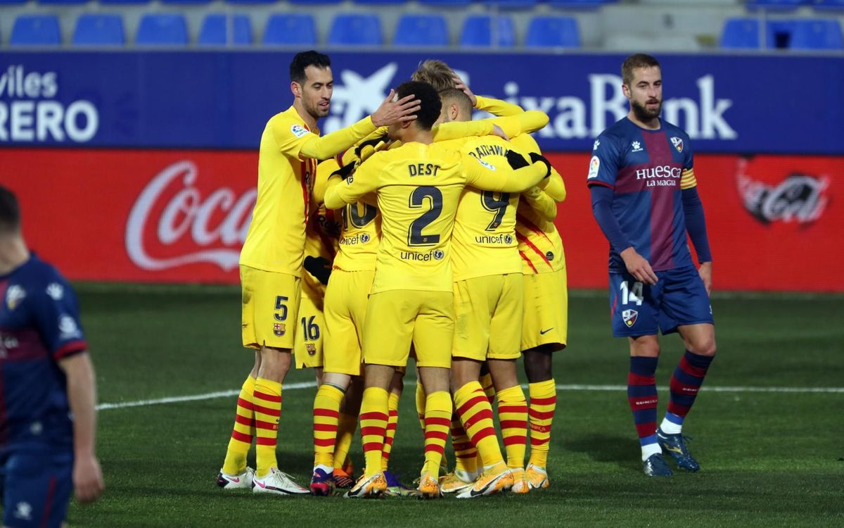 Huesca 0-1 FC Barcelona: Happy New Year