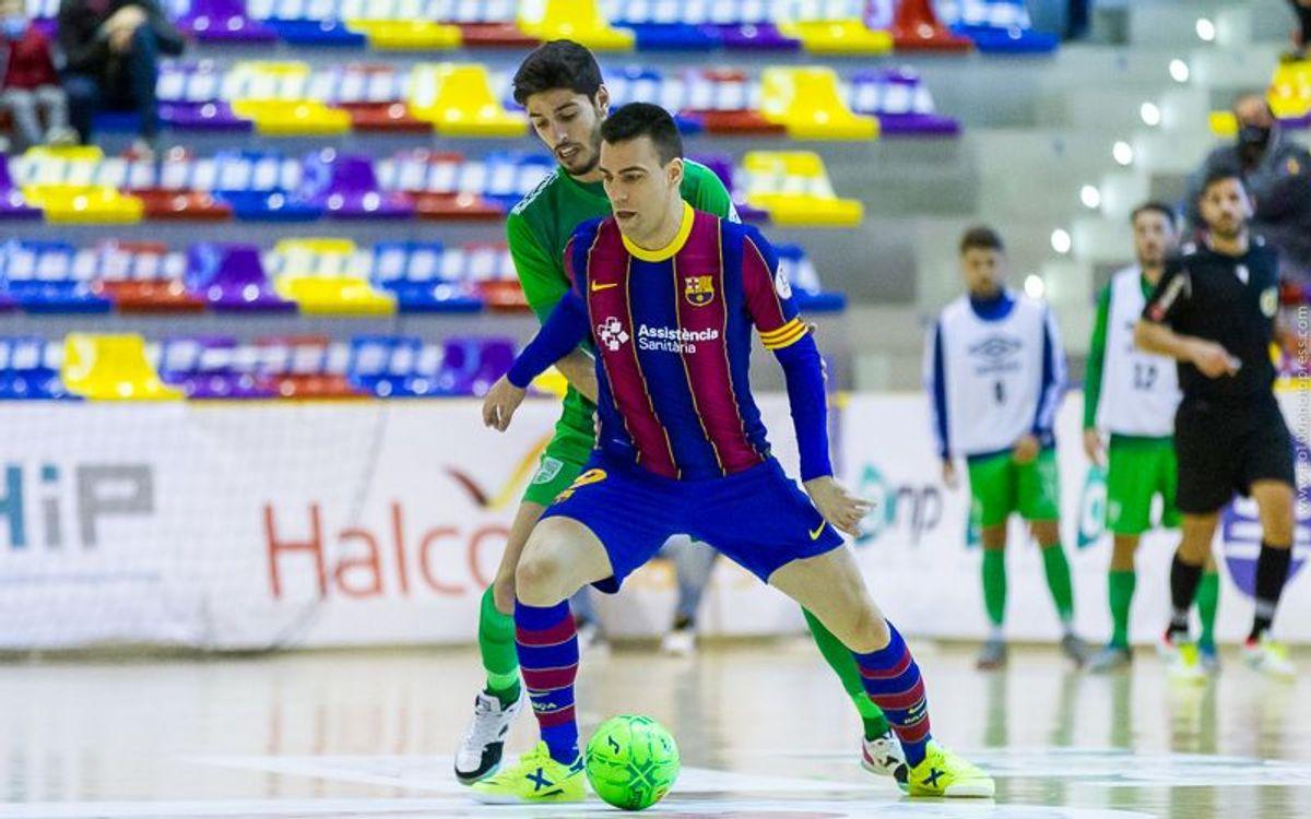 Antequera - Barça: S'escapa la victòria (2-2)