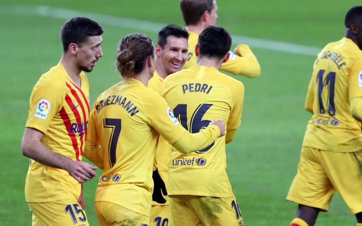 Ath. Bilbao - Barça : Pedri-Messi, ils ont tout compris (2-3)