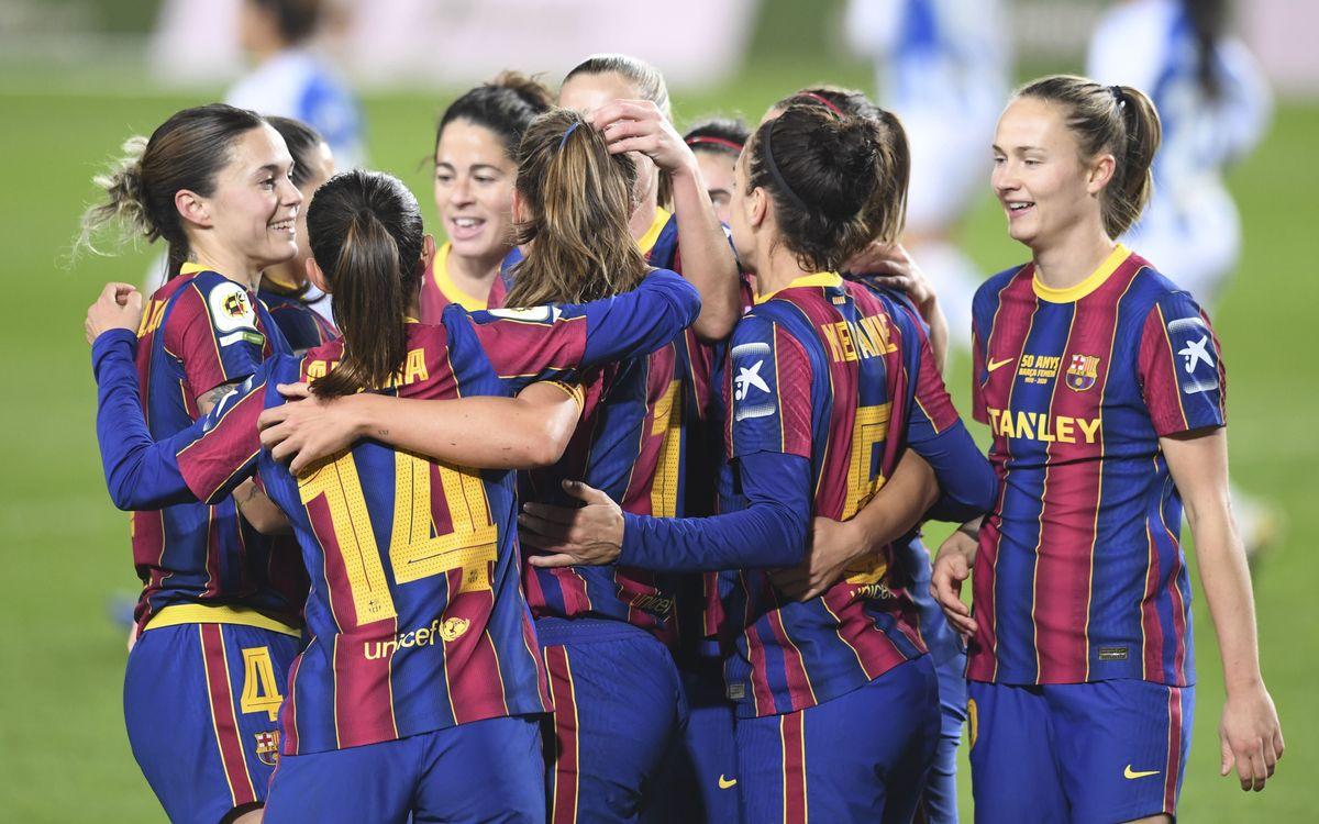 Barça Femení – Espanyol: Golejada històrica al Camp Nou (5-0)