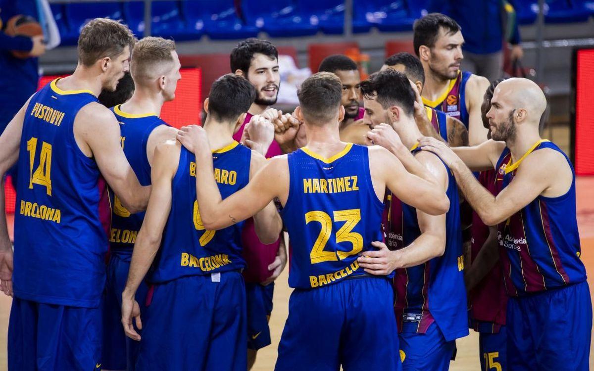 Barça - Valencia Basket: Buen triunfo para romper la mala racha (89-72)