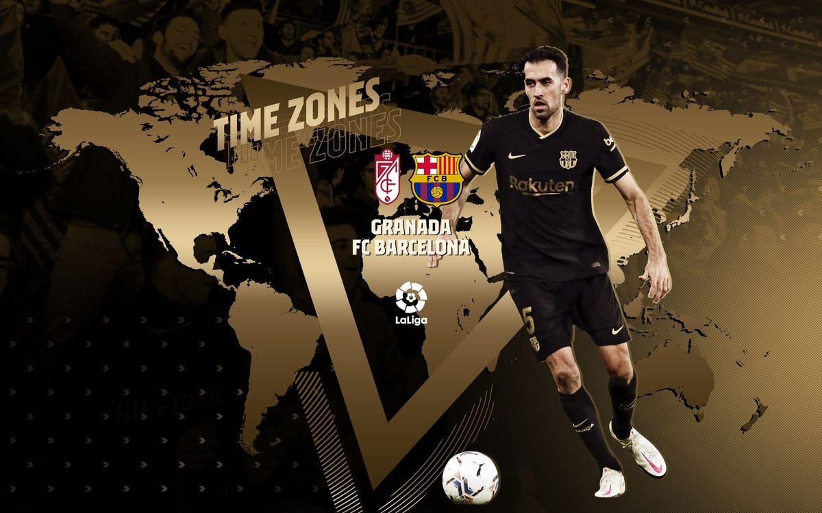 When and where to see Granada v Barça
