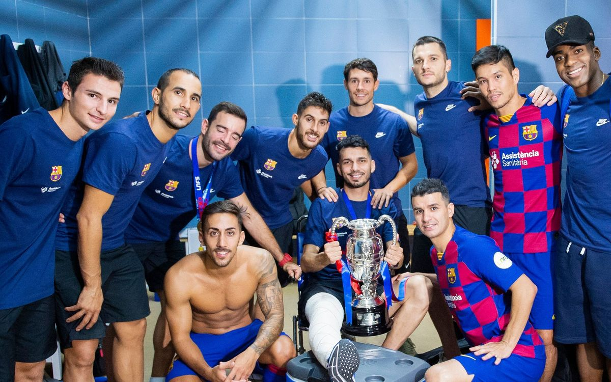"Esquerdinha: ""Esta Supercopa es especial para mí"""