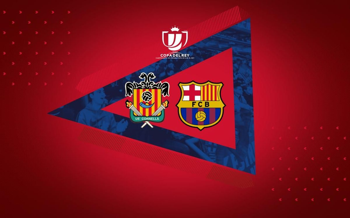 FC バルセロナ、国王杯でコルネジャと対戦