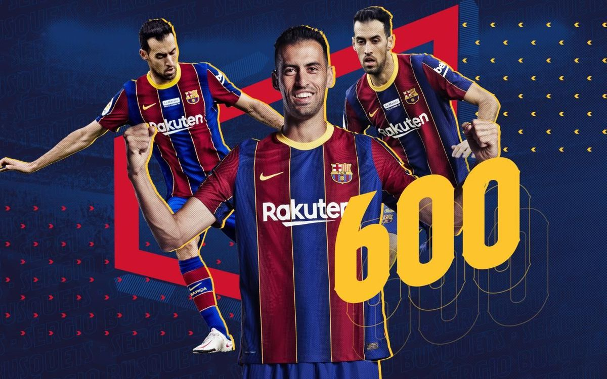 600th appearance for Sergio