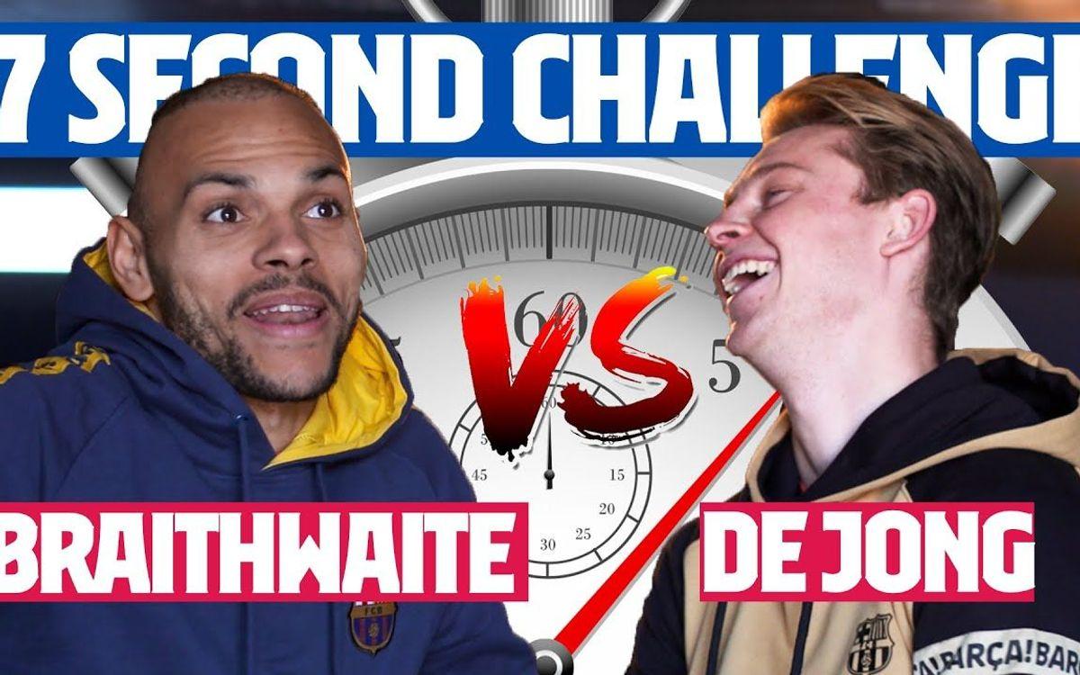 Le challenge des 7 secondes : Braithwaite VS De Jong