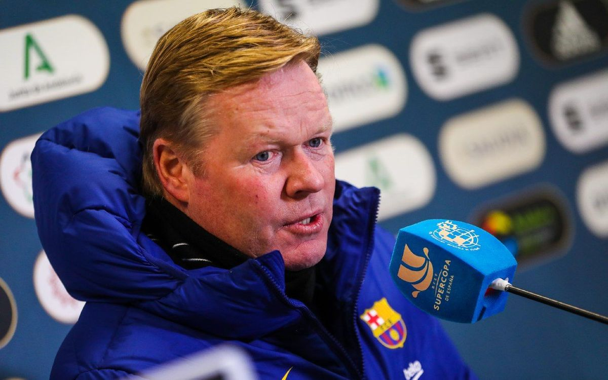 Ronald Koeman: 'It's a chance to show we are on the right path'
