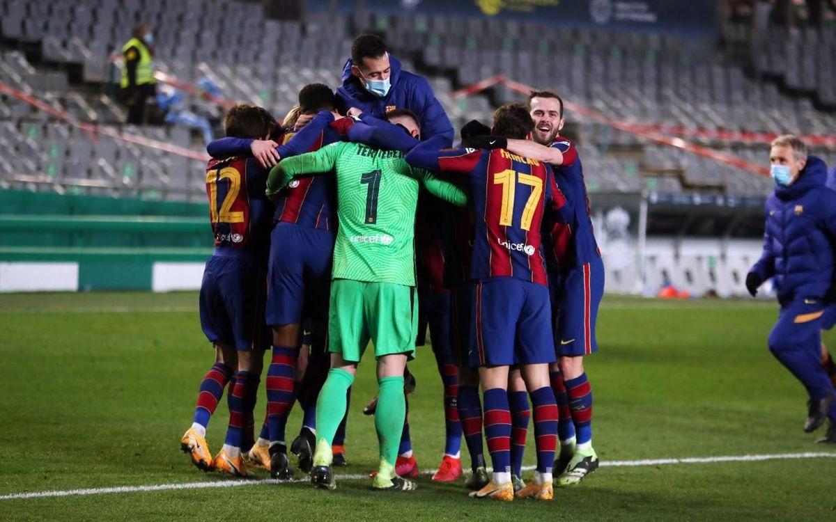 Real Sociedad 1-1 Barça (2-3 on pens): Ter Stegen takes us to Seville!