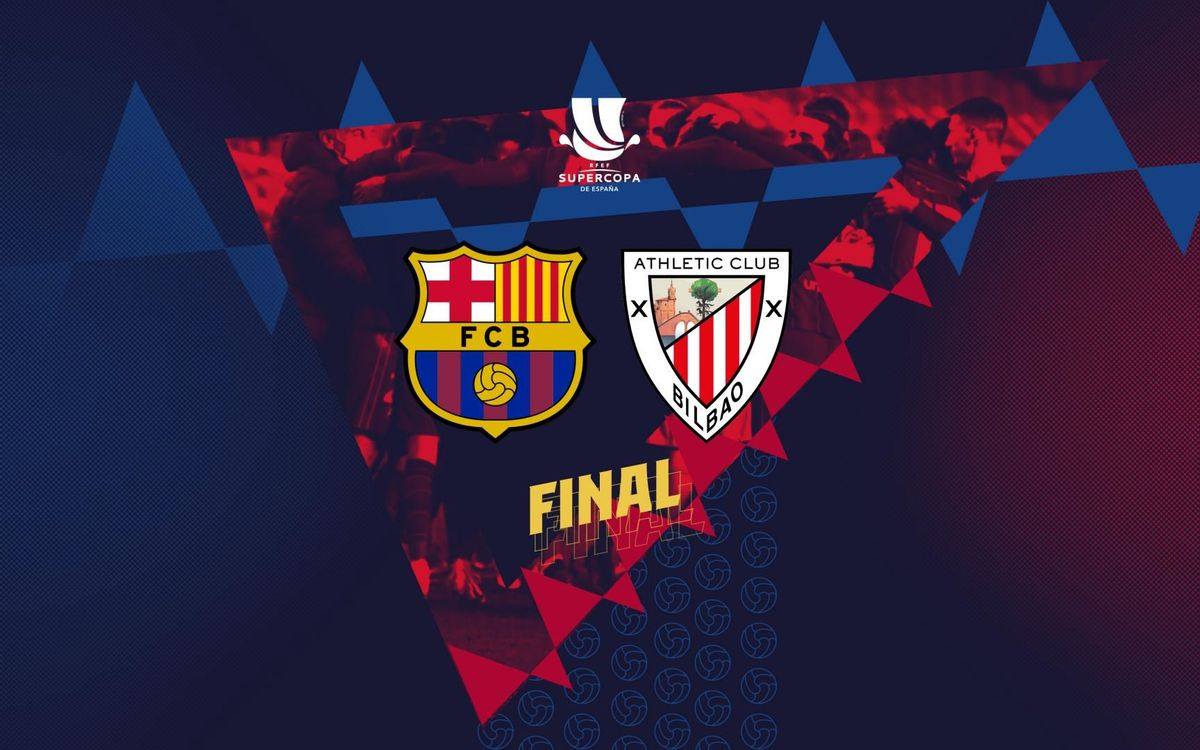 El Athletic Club, rival del Barça en la final de la Supercopa