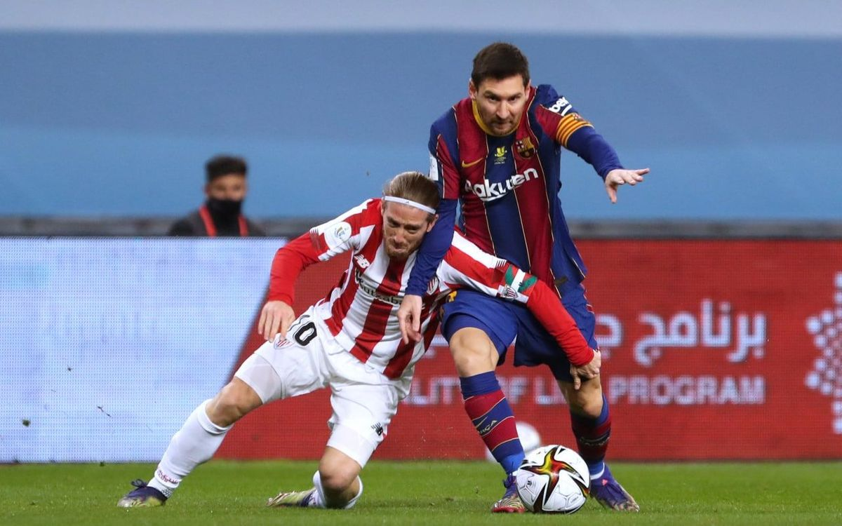 Barça - Ath. Bilbao : Cruel final de Supercoupe (2-3)