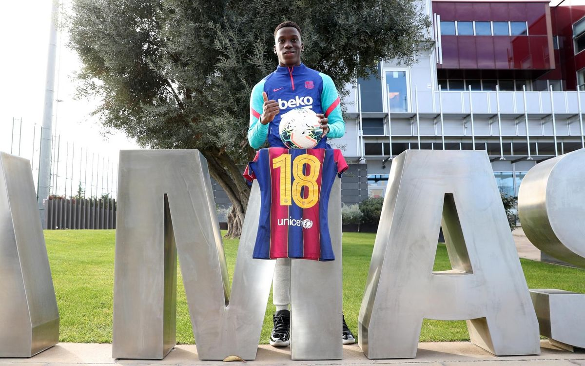 Ilaix Moriba turns 18: 'I hope to keep learning from the best'