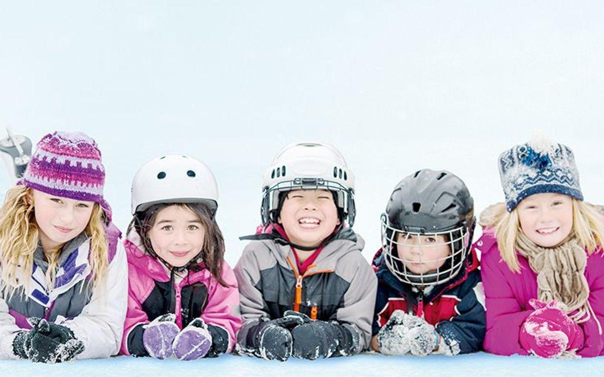 Ice rink kids