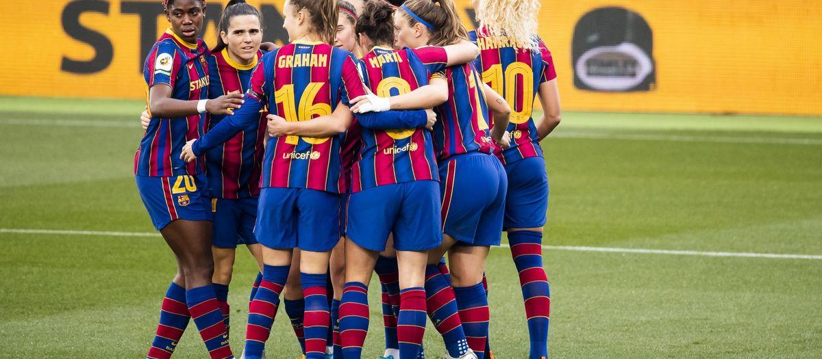 WOMEN'S FOOTBALL: Barça 7-0 Rayo Vallecano