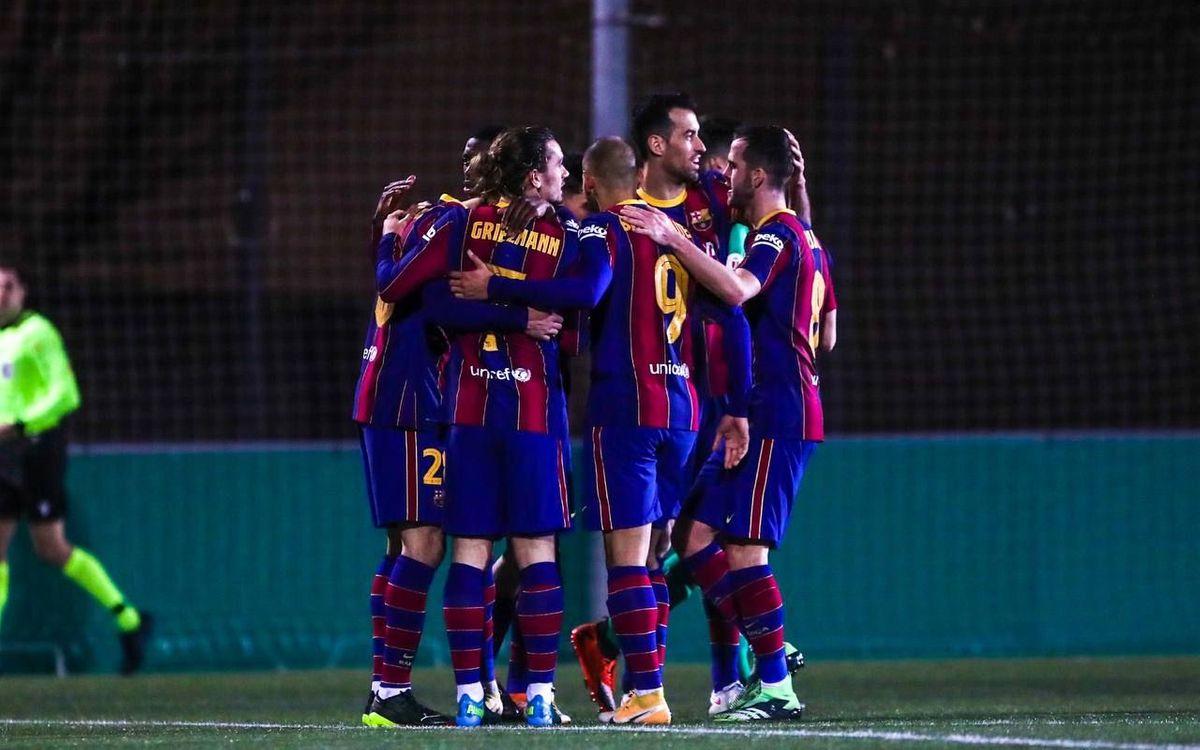 Cornellà 0-2 FC Barcelona: Victory in extra time