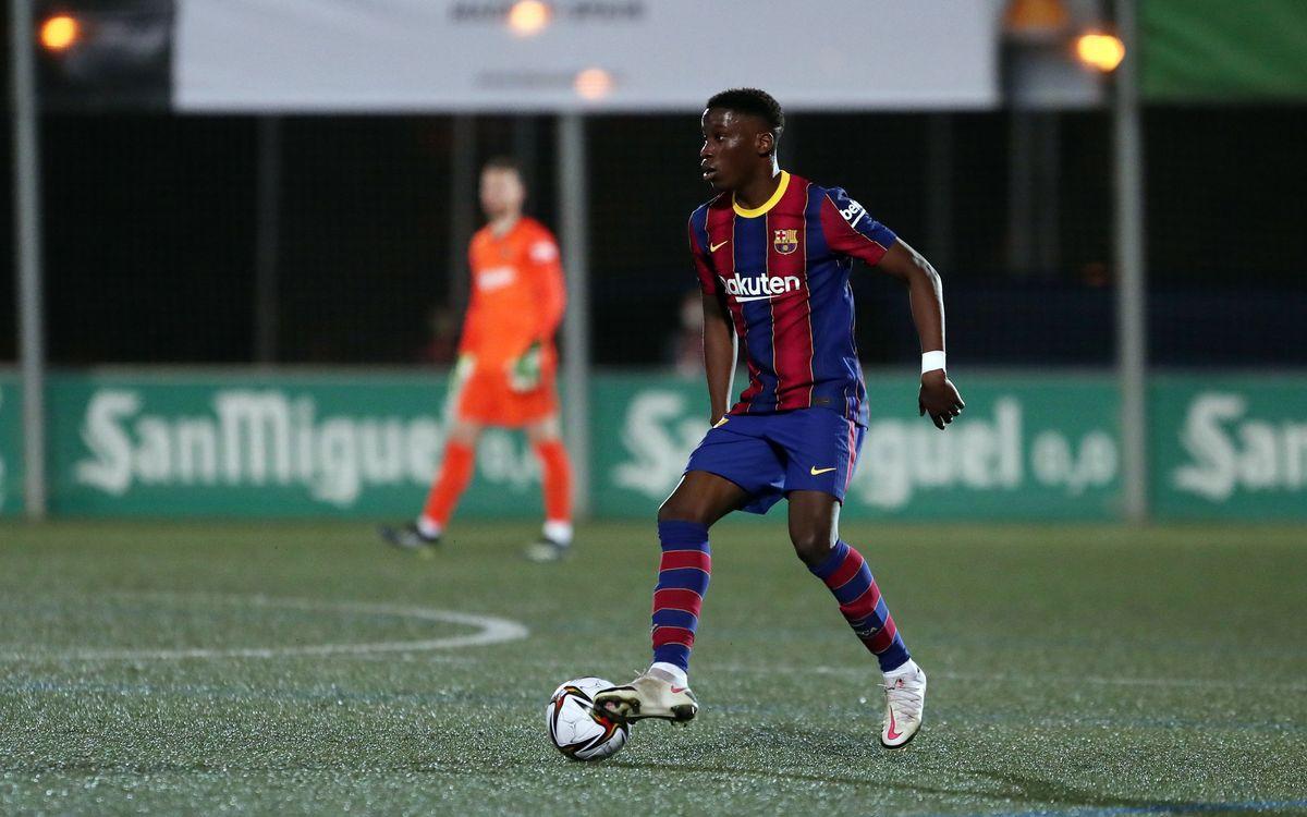 Ilaix Moriba, Barça through and through since the age of seven