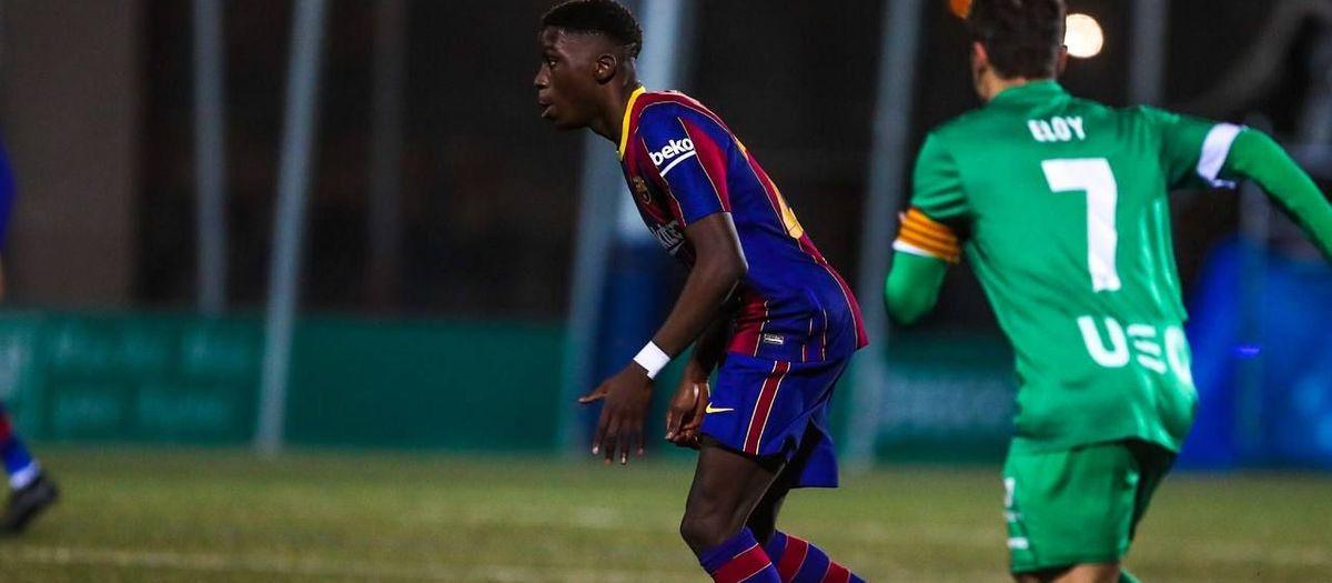 Ilaix Moriba makes first team debut