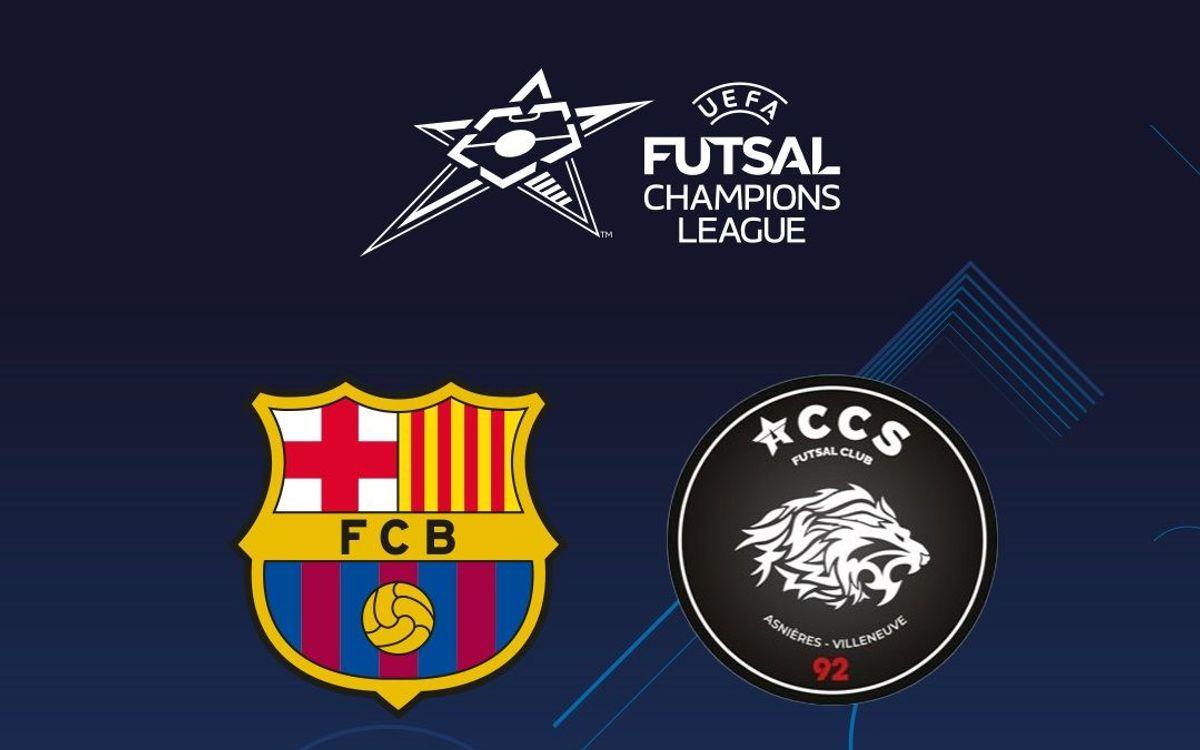 Barça-ACCS, eliminatoria estelar de octavos