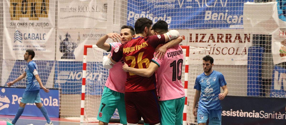 Peñíscola Globeenergy 1-3 Barça: Three tough points