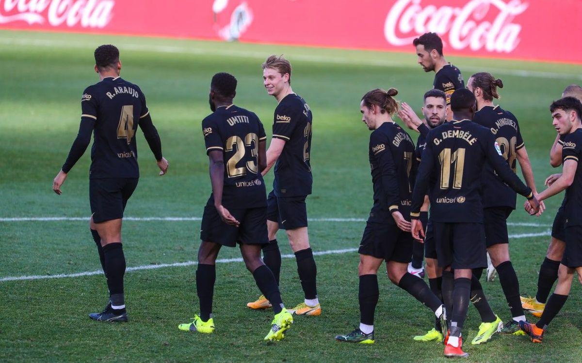 5ème victoire consécutive à l'extérieur en Liga