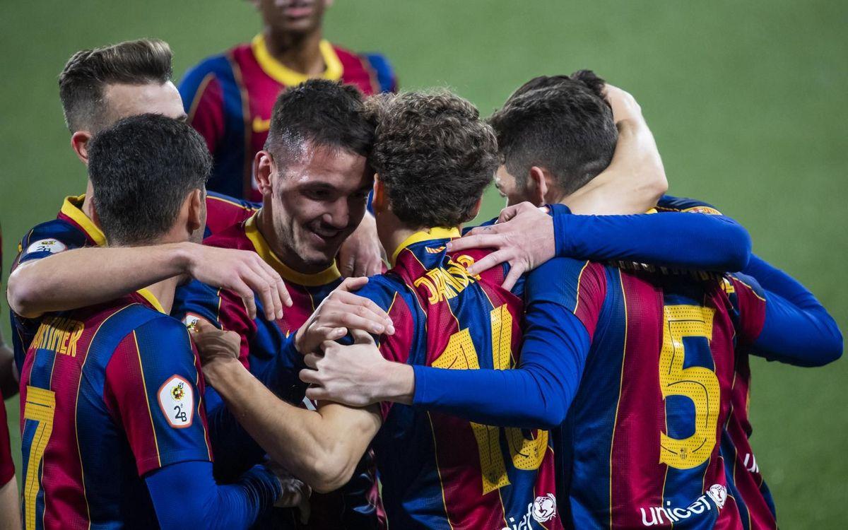 Barça B 2-1 Olot: Gritty victory