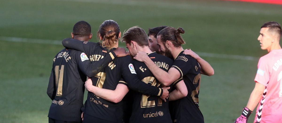 Elx - Barça: Es fan forts a domicili (0-2)