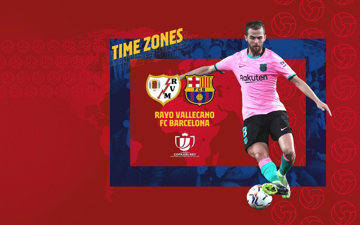 Où et quand voir Rayo Vallecano - FC Barcelone