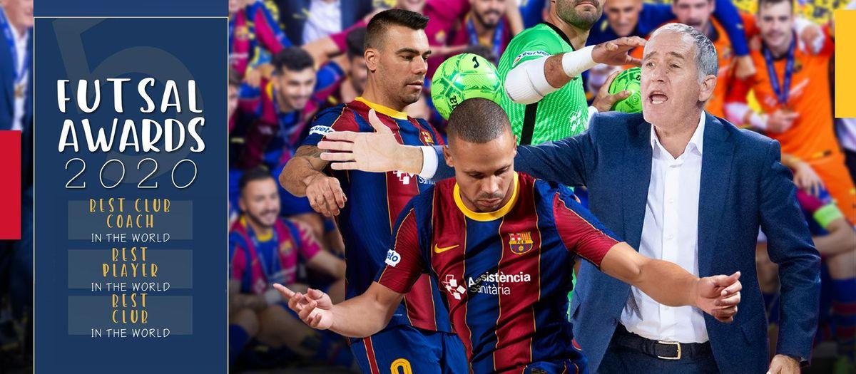 Ferrao, Plaza y el Barça repiten como los mejores del mundo