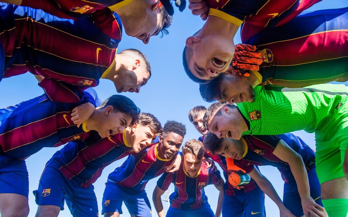 Barça U19A will find out their Youth League opponent this Wednesday