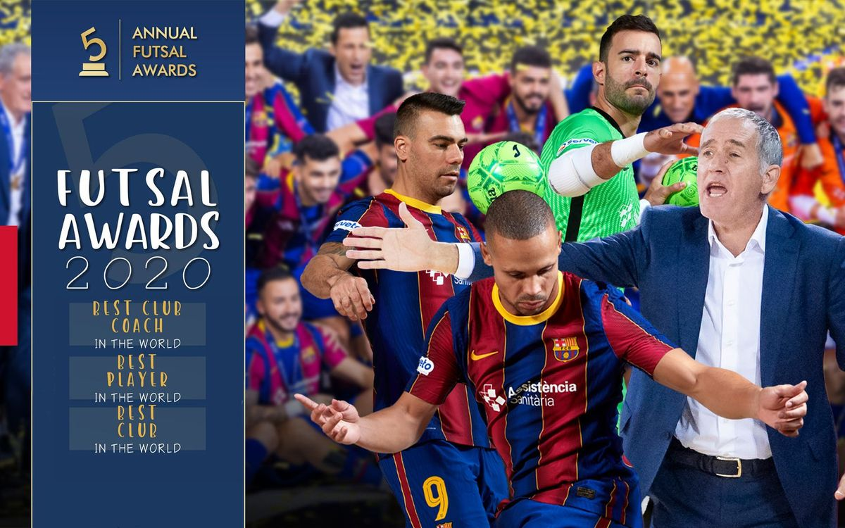 Ferrao, Plaza and Barça are the best in the world