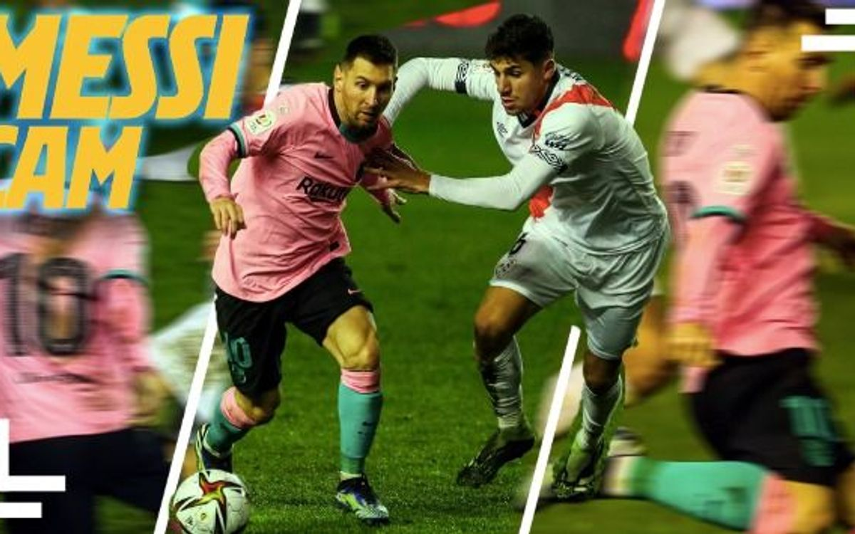 Zoom sur le match de Messi contre le Rayo