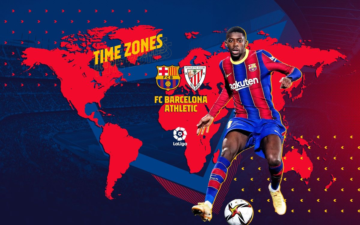 When and where to watch Barça v Athletic