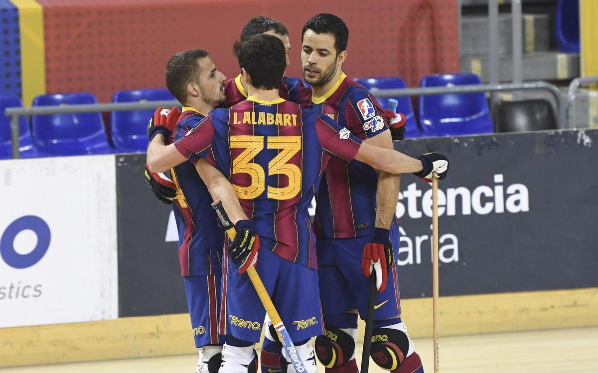 Barça 9-2 Lloret Vila Esportiva: The roll continues