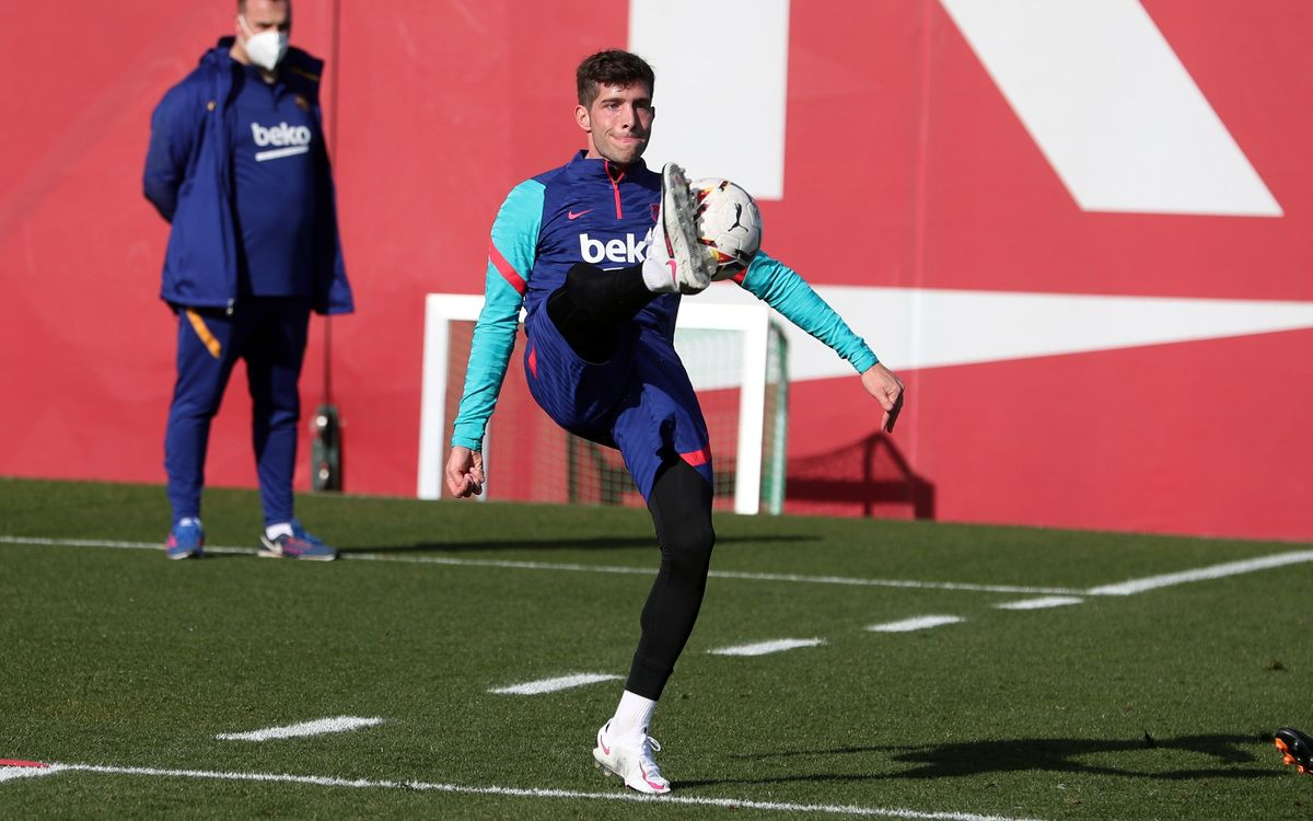 Sergi Roberto, a new face in the squad for Athletic Club