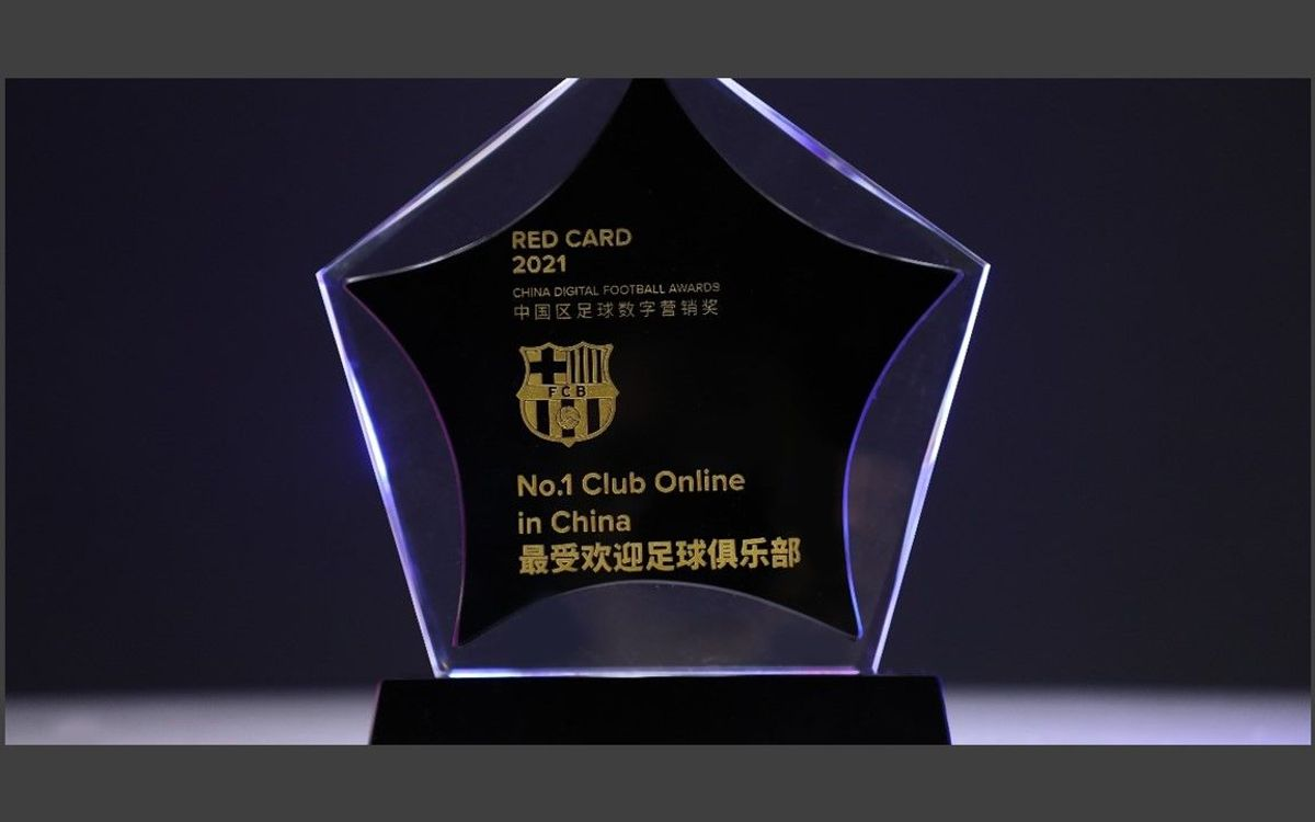 Barça recognized as the most popular football club in China for the second year running