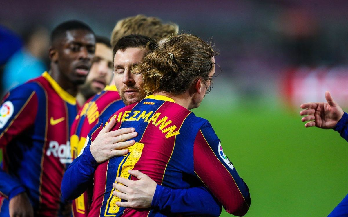 FC Barcelone - Athletic Club: Messi-Grizi, tout sourit (2-1)
