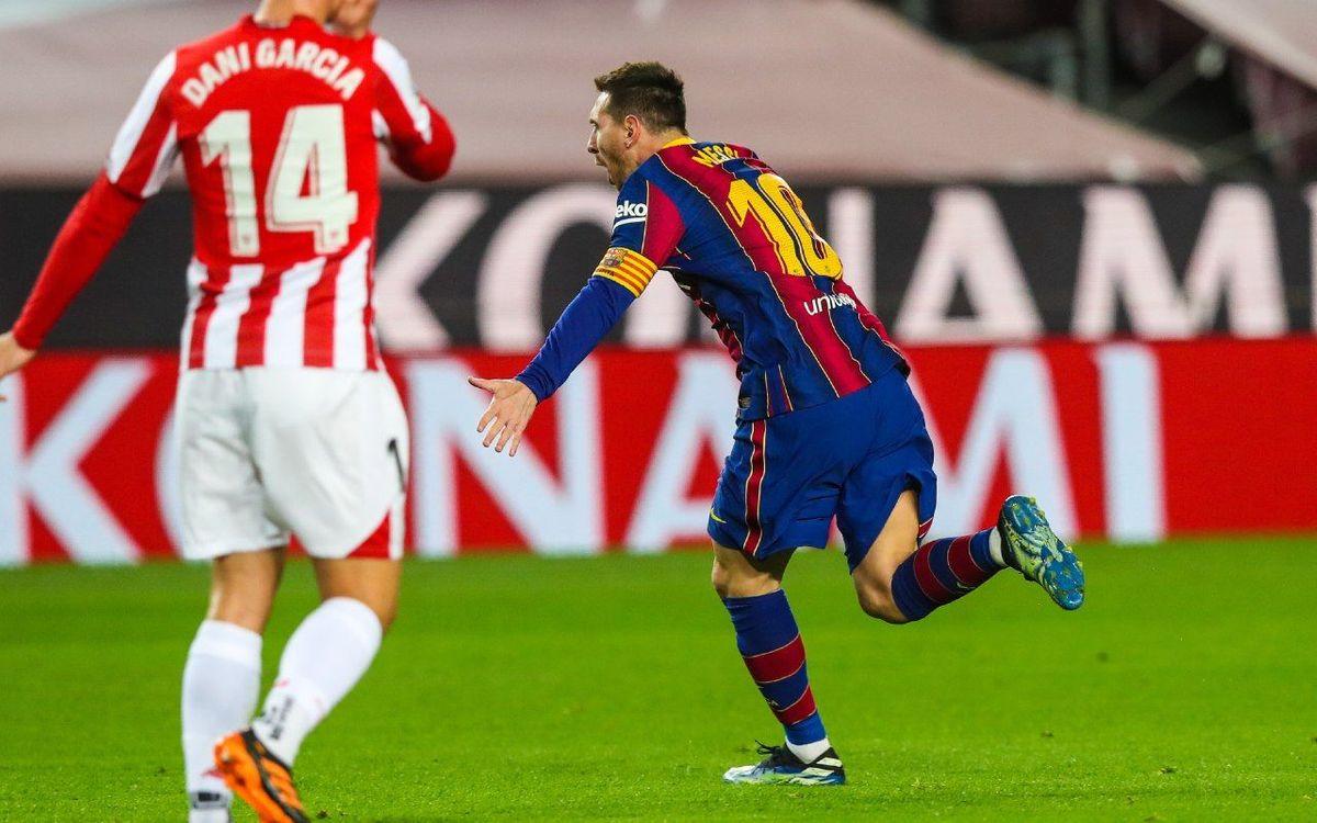Messi: 650 goals for Barça