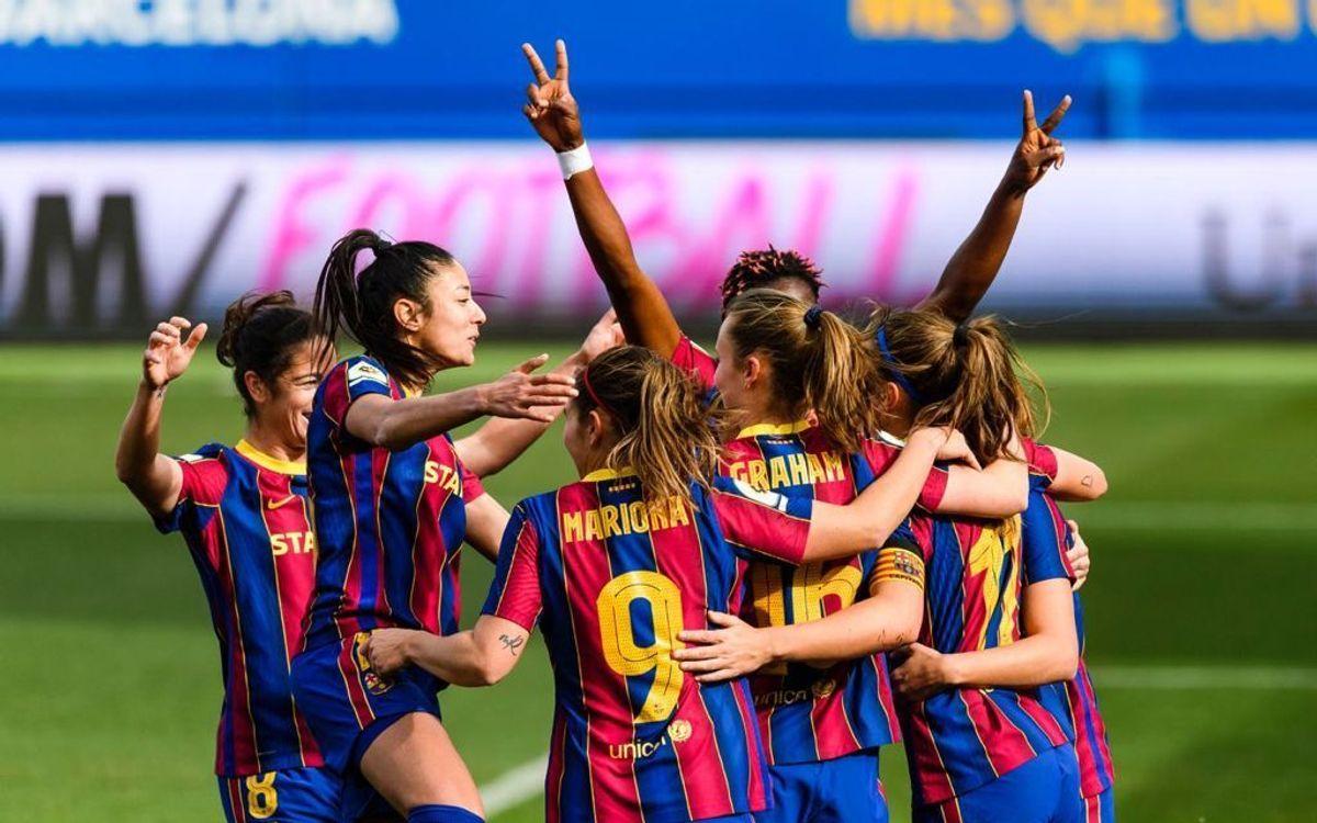 FC Barcelona Women 4-1 Real Madrid: The Clásico is blaugrana