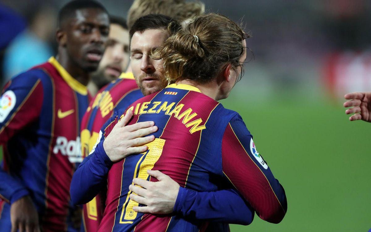 FC Barcelona - Athletic Club: Triomf per escalar (2-1)
