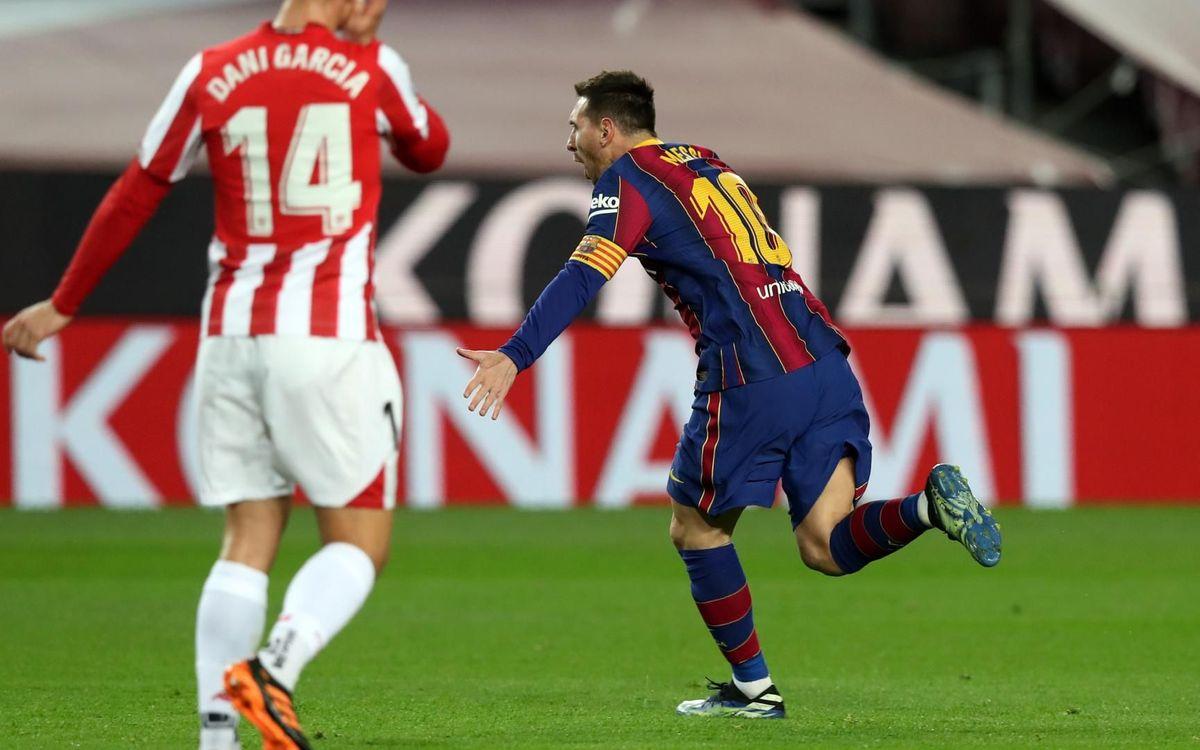 Messi : 650 buts avec le Barça