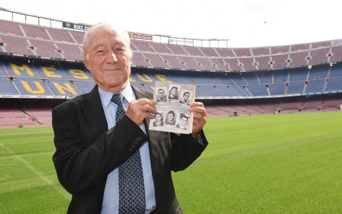 Former Barça player Justo Tejada dies