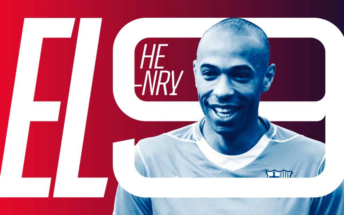 Thierry Henry, protagoniste d'un nouvel épisode de la série 'El 9'
