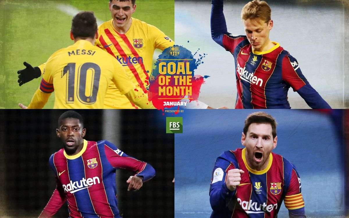 Choose the Goal of the Month for January