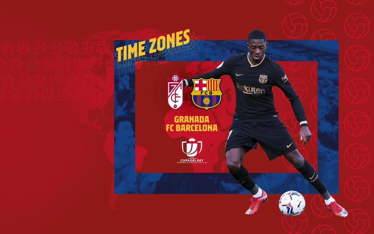 Où et quand voir Grenade - Barça