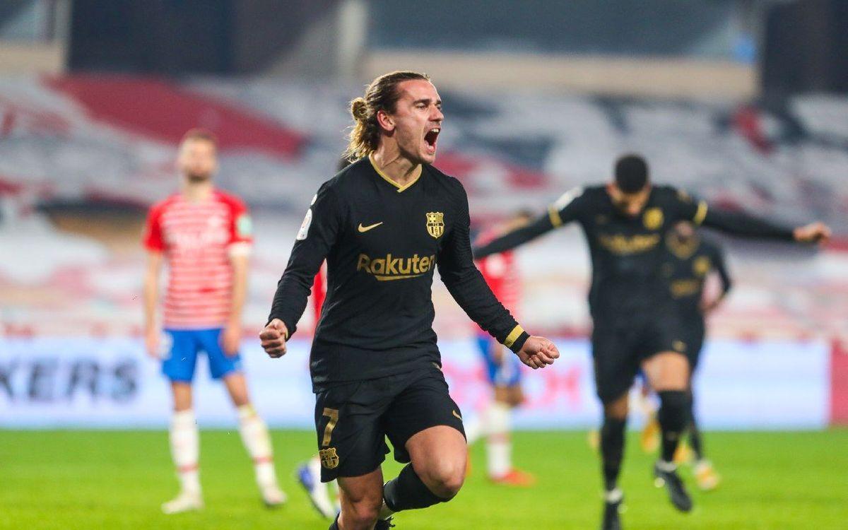 グラナダ - FC バルセロナ: 大逆転そして準決勝へ (3-5)