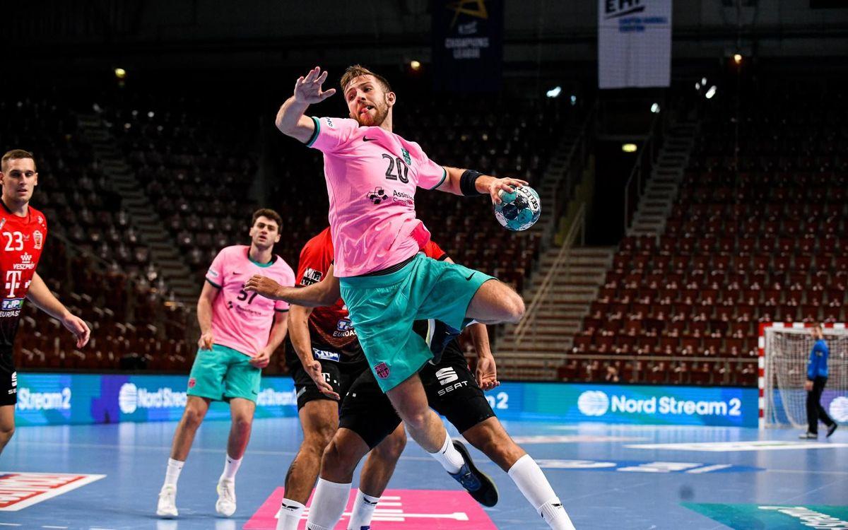 Telekom Veszprém 34-37 Barça: Win on return to action